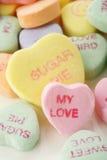 Sucrerie de coeur de Valentine Photographie stock