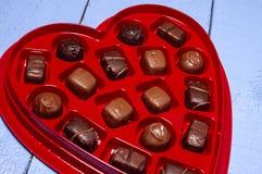 Sucrerie de coeur de Valentine Photos stock
