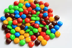 Sucrerie de couleur Photos libres de droits