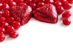 Sucrerie de Valentine Images libres de droits