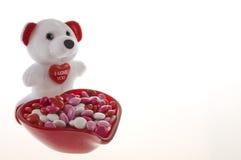 Sucrerie de Valentine photos stock