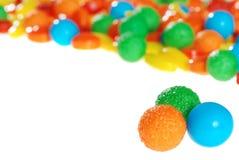 Sucrerie dure de fruit coloré photographie stock libre de droits