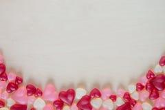Sucrerie en forme de coeur assortie de gelée Photographie stock
