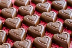 Sucrerie et petits gâteaux de jour de valentines Photo stock