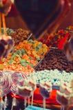 Sucrerie molle multicolore Fin vers le haut photographie stock libre de droits