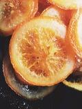 Sucrerie orange Photos libres de droits