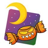Sucrerie rampante de Halloween Photographie stock libre de droits