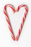 Sucrerie rouge de Noël Images libres de droits