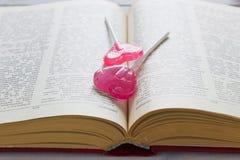 Sucrerie rouge de valentine Image libre de droits