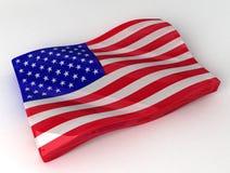 Sucrerie sous forme d'indicateur américain Images libres de droits