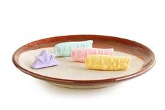 Sucrerie sucrée japonaise traditionnelle pour le jour du ` s d'enfants Photo libre de droits