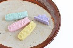 Sucrerie sucrée japonaise traditionnelle pour le jour du ` s d'enfants Image libre de droits