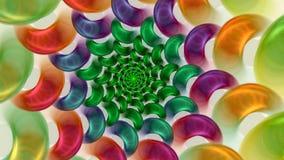 Sucreries colorées Photos stock