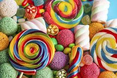 Sucreries colorées photographie stock libre de droits