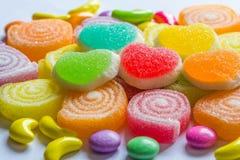 Sucreries colorées de gelée image stock