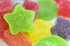 Sucreries colorées de gelée de fruit photo stock
