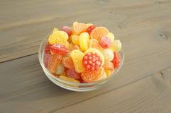 Sucreries colorées de sucrerie Photographie stock