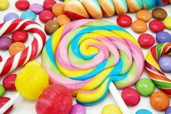 Sucreries colorées mélangées Images stock