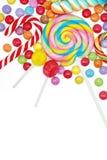 Sucreries colorées mélangées Photo stock
