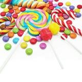 Sucreries colorées mélangées Photos stock