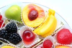 Sucreries créatrices de fruit Photos libres de droits