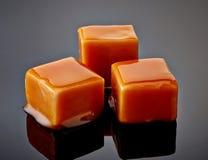 Sucreries de caramel Photos libres de droits
