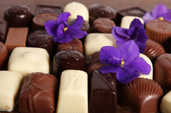 Sucreries de chocolat Photo stock