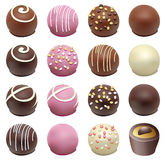 Sucreries de chocolat illustration stock