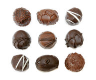 Sucreries de chocolat image libre de droits