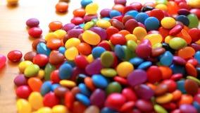 Sucreries de chocolat colorées Images stock