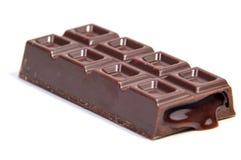 Sucreries de chocolat d'isolement sur le blanc Photo stock