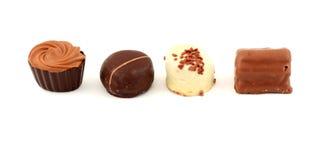 Sucreries de chocolat exquises Photographie stock