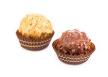 Sucreries de chocolat sucré Photos stock