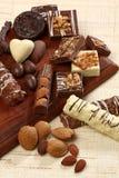 Sucreries de chocolat sucré photo libre de droits