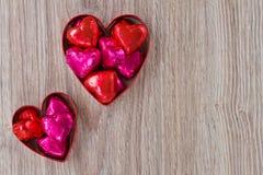 Sucreries de coeur Images libres de droits