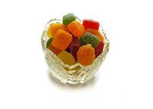 Sucreries de confiture d'oranges Photos stock
