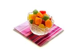 Sucreries de confiture d'oranges Image libre de droits