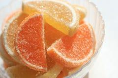 Sucreries de gelée dans une cuvette Photo libre de droits