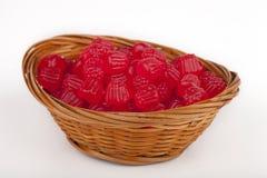 Sucreries de gelée de framboise Image stock