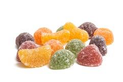 Sucreries de gelée de fruit photo stock
