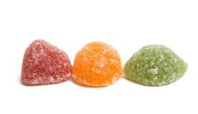 Sucreries de gelée de fruit photo libre de droits