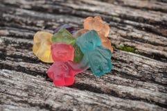 sucreries de gelée sous forme d'ours pour Halloween dessus Photos libres de droits