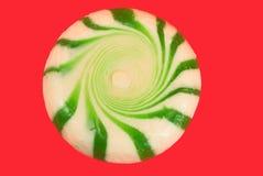 Sucreries de menthe poivrée Images libres de droits