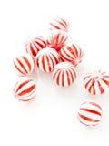 Sucreries de menthe poivrée Images stock