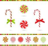 Sucreries de Noël Photographie stock