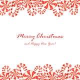 Sucreries de Noël Image libre de droits