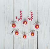 Sucreries de Noël photographie stock libre de droits