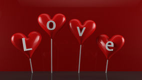 Sucreries de Saint-Valentin Images stock