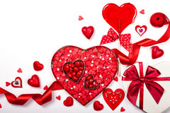 Sucreries de Saint-Valentin Photos stock