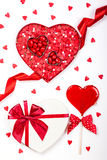 Sucreries de Saint-Valentin Photo stock